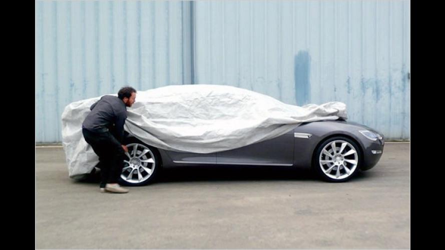 Tesla Model S: Erstes Stück vom viertürigen Tesla