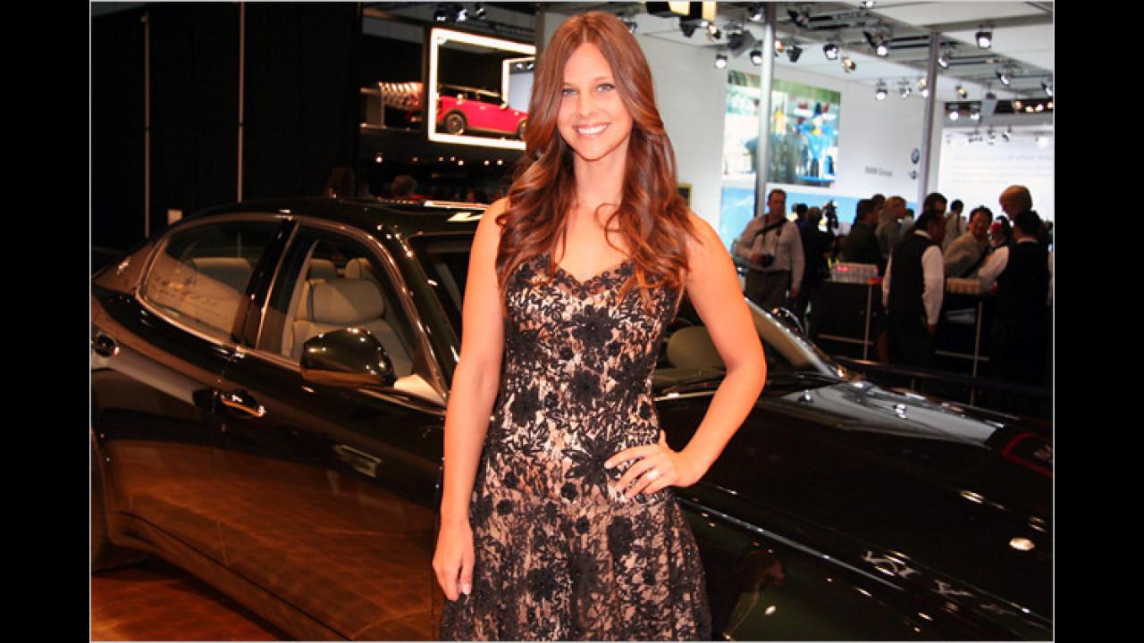 Ah, der Maserati-Stand hat noch mehr zu bieten ...