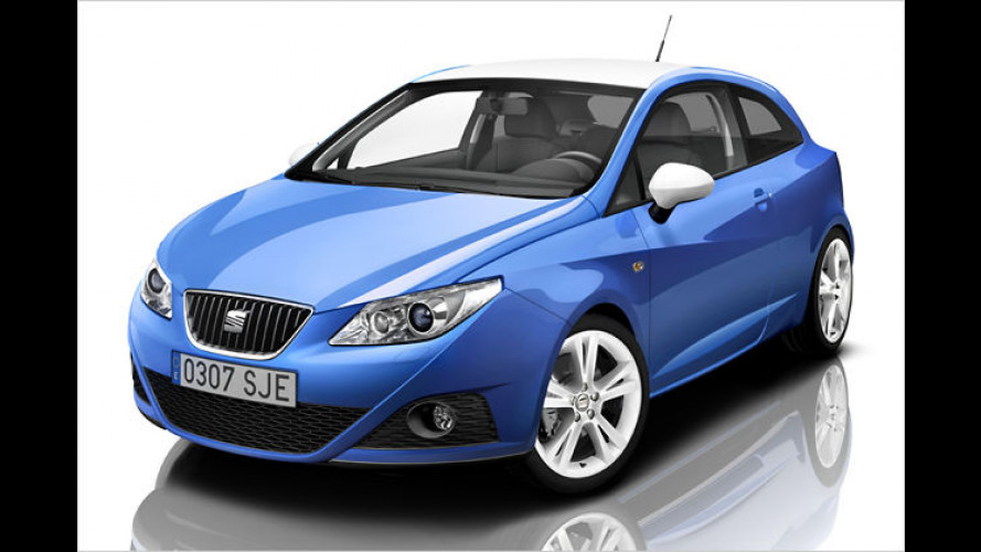 Farbenfrohes Sondermodell: Seat Ibiza SC Color Edition