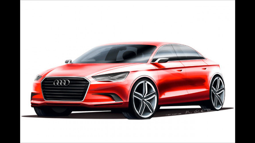 Audi A3 concept: 408 PS in ungewohnter Form