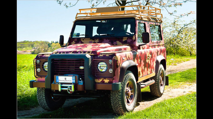 Passend zum Weinberg: Land Rover Defender Vineyard