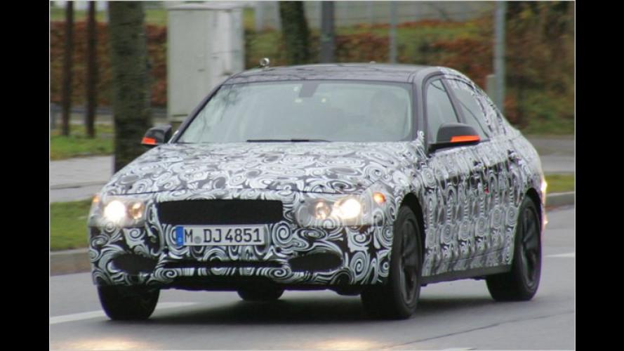 Erwischt: BMW ist mit dem neuen 3er unterwegs