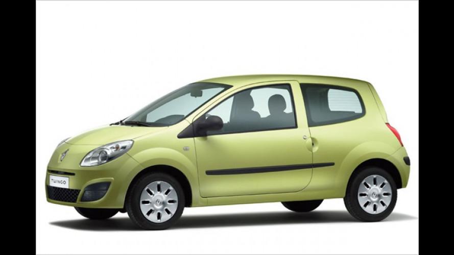 Renault schickt das Sondermodell Twingo Eco2 ins Rennen