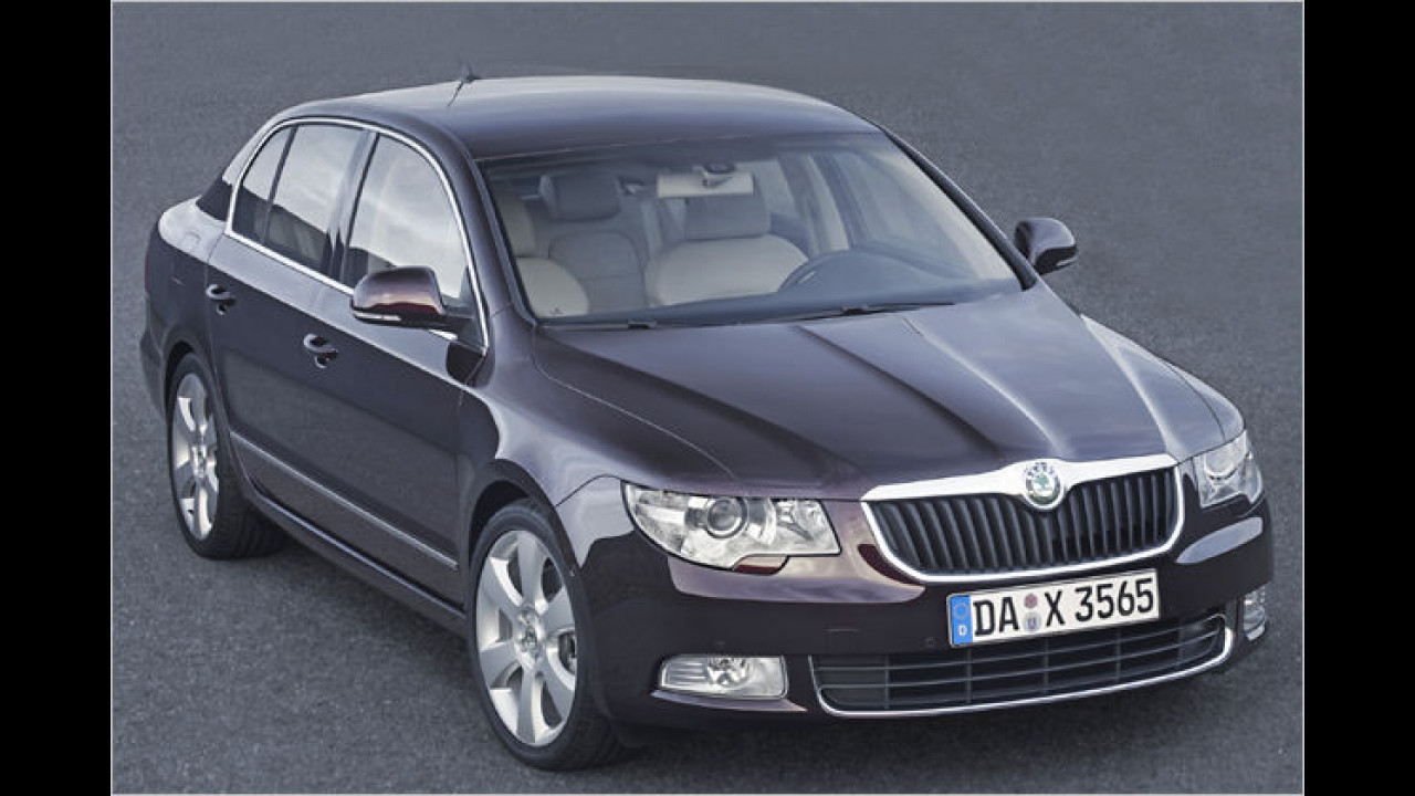 Skoda Superb GreenLine 1.9 TDI