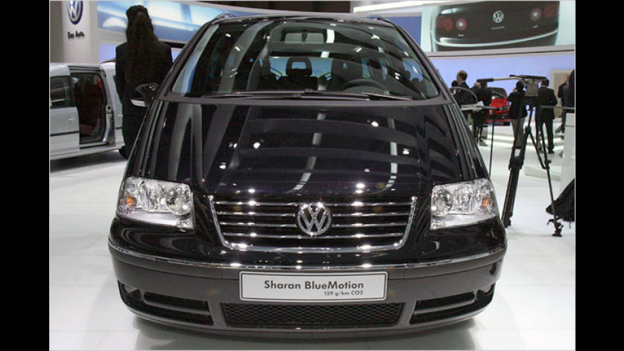 Volkswagen präsentiert den neuen Sharan BlueMotion