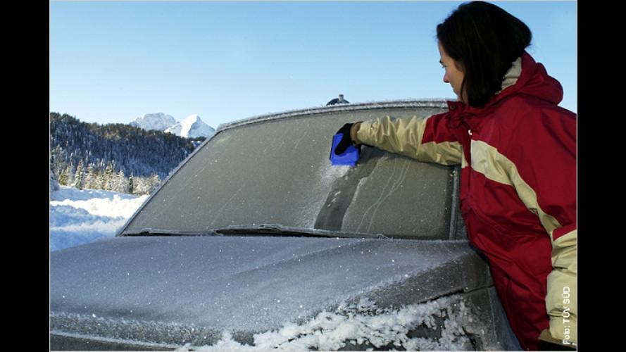 So machen Sie Ihr Auto wintertauglich