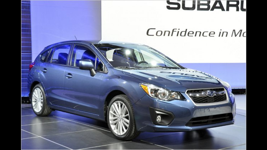 Neuer Subaru Impreza: Global geschärft