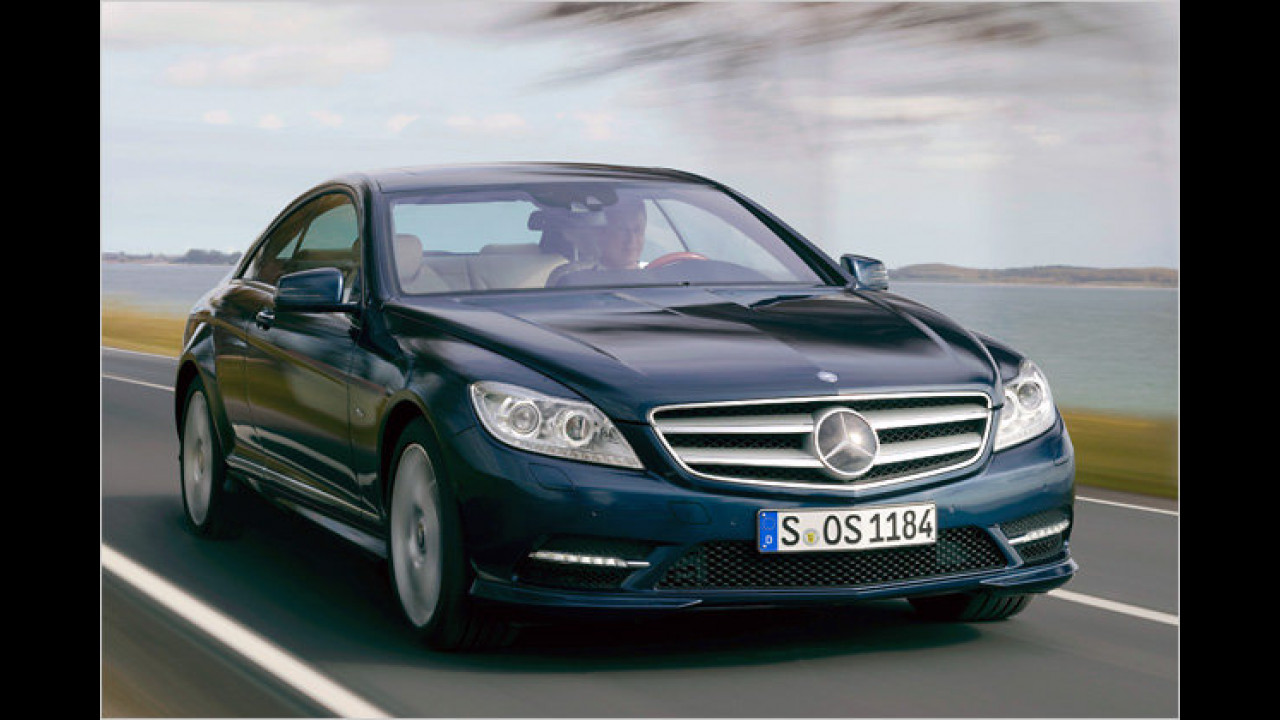 Der neue Mercedes CL