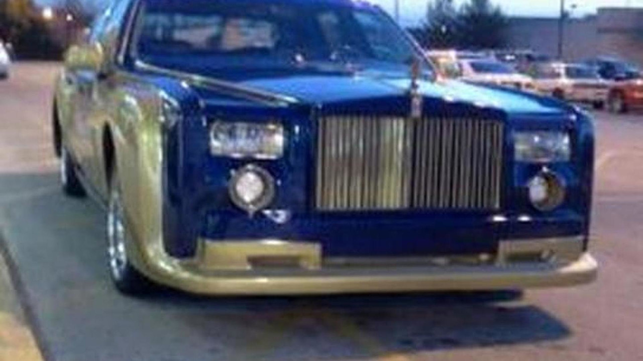 Rolls Royce Phantom Replica Based On Lincoln Town Car Is Just Wrong
