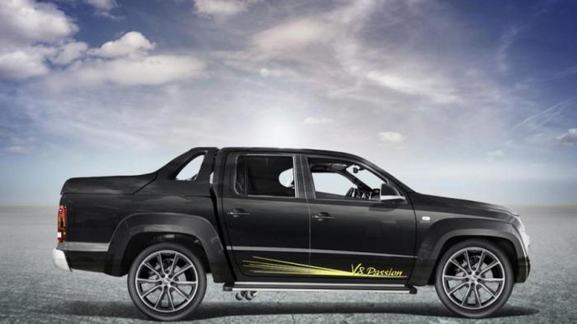 Mtm Bringing V8 Powered Volkswagen Amarok To Geneva