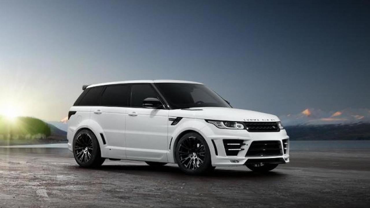 Lumma Design Releases More Photos Of Range Rover Sport Clr Rs