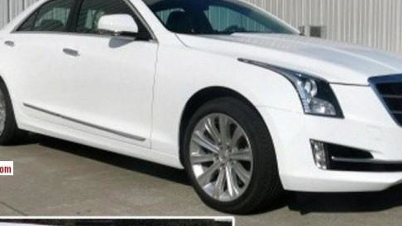 Cadillac ATS-L spy photo