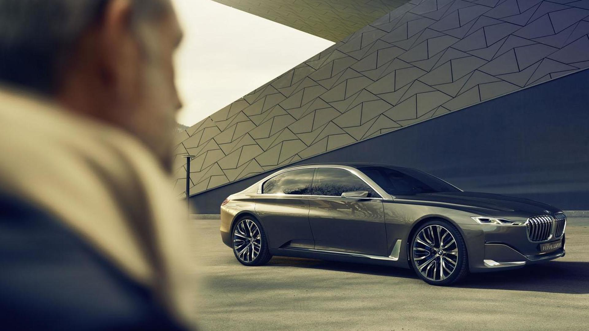 Bmw Vision Future Luxury Concept Officially Unveiled Features