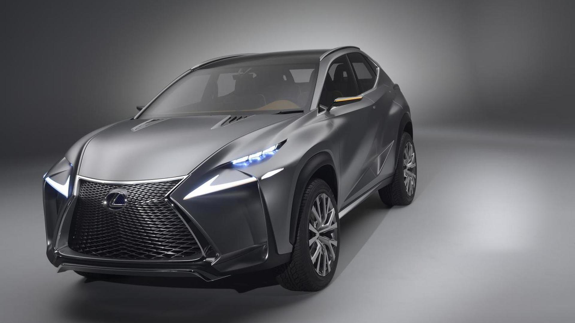 Lexus Lf Nx >> Lexus Lf Nx Crossover Concept Bows In Frankfurt Videos