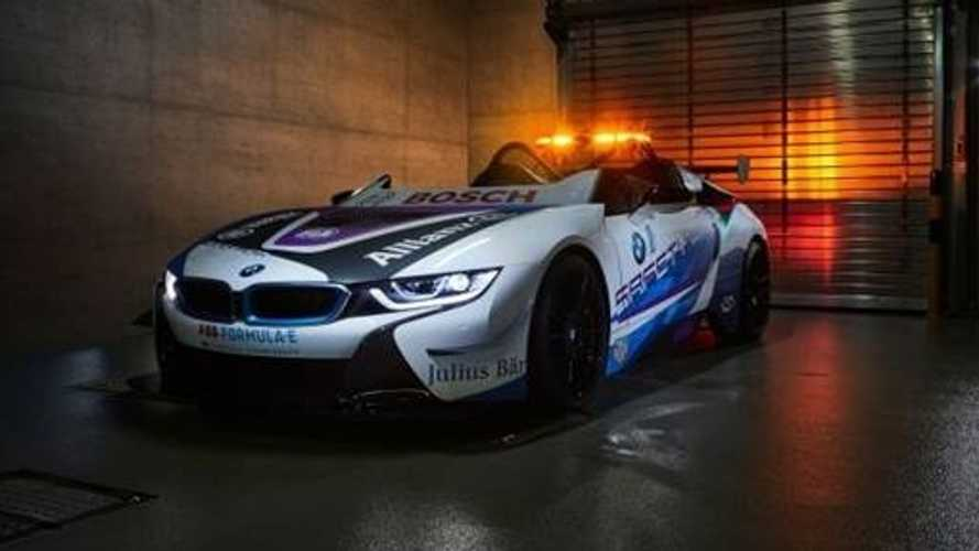 BMW i8 Roadster vira safety car da Fórmula E