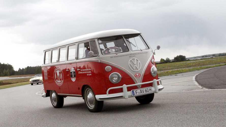 Zeitreise: Unterwegs im VW T1 von 1962