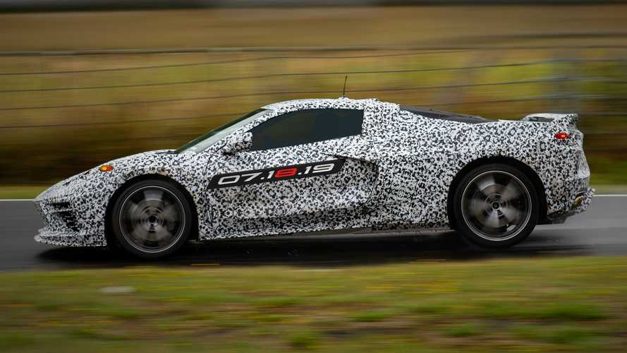 C8 Chevrolet Corvette High-Res Teaser
