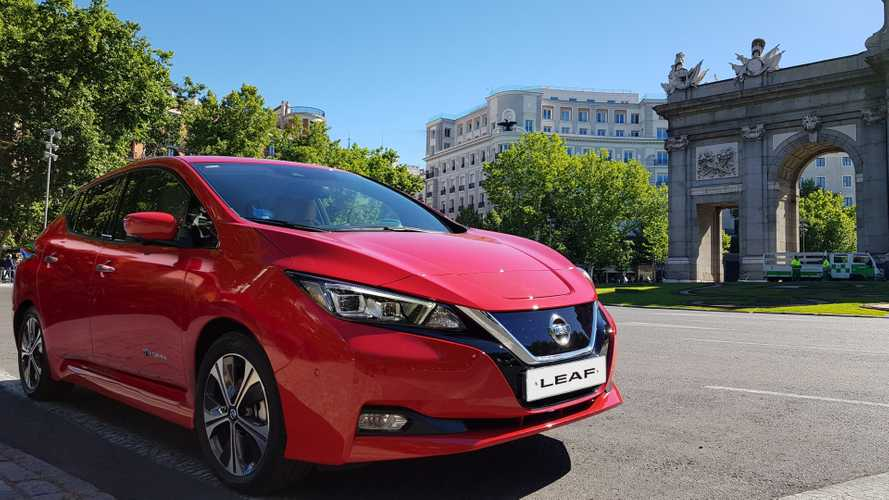 Nissan Leaf UEFA Champions League 2019