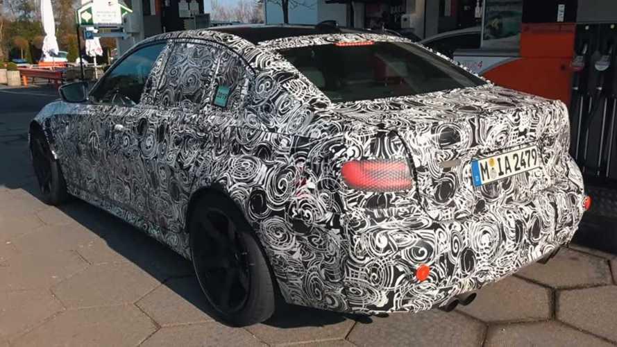 Yeni BMW M3, Yeşil Cehennem'de turlarken görüntülendi