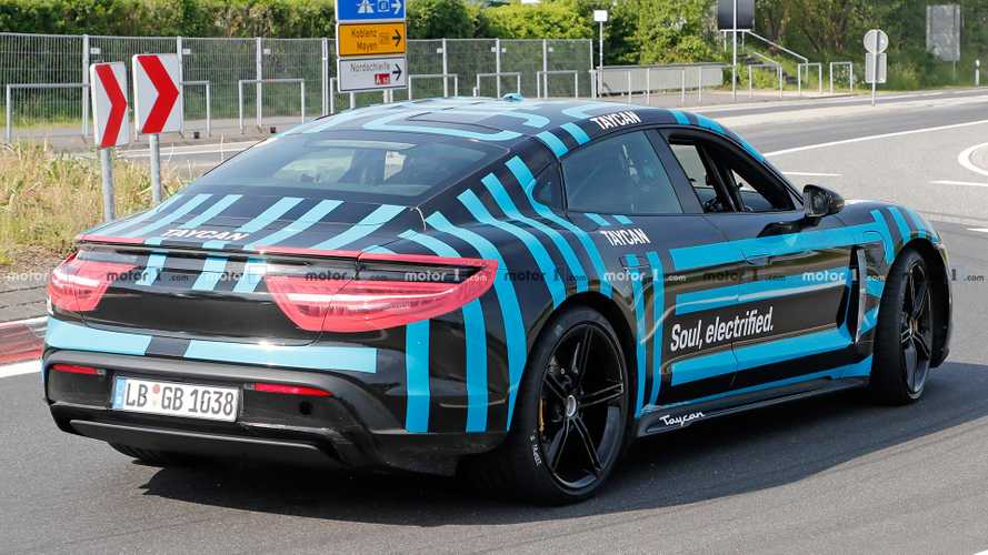 2020 Porsche Taycan has more than 700 horsepower with overboost