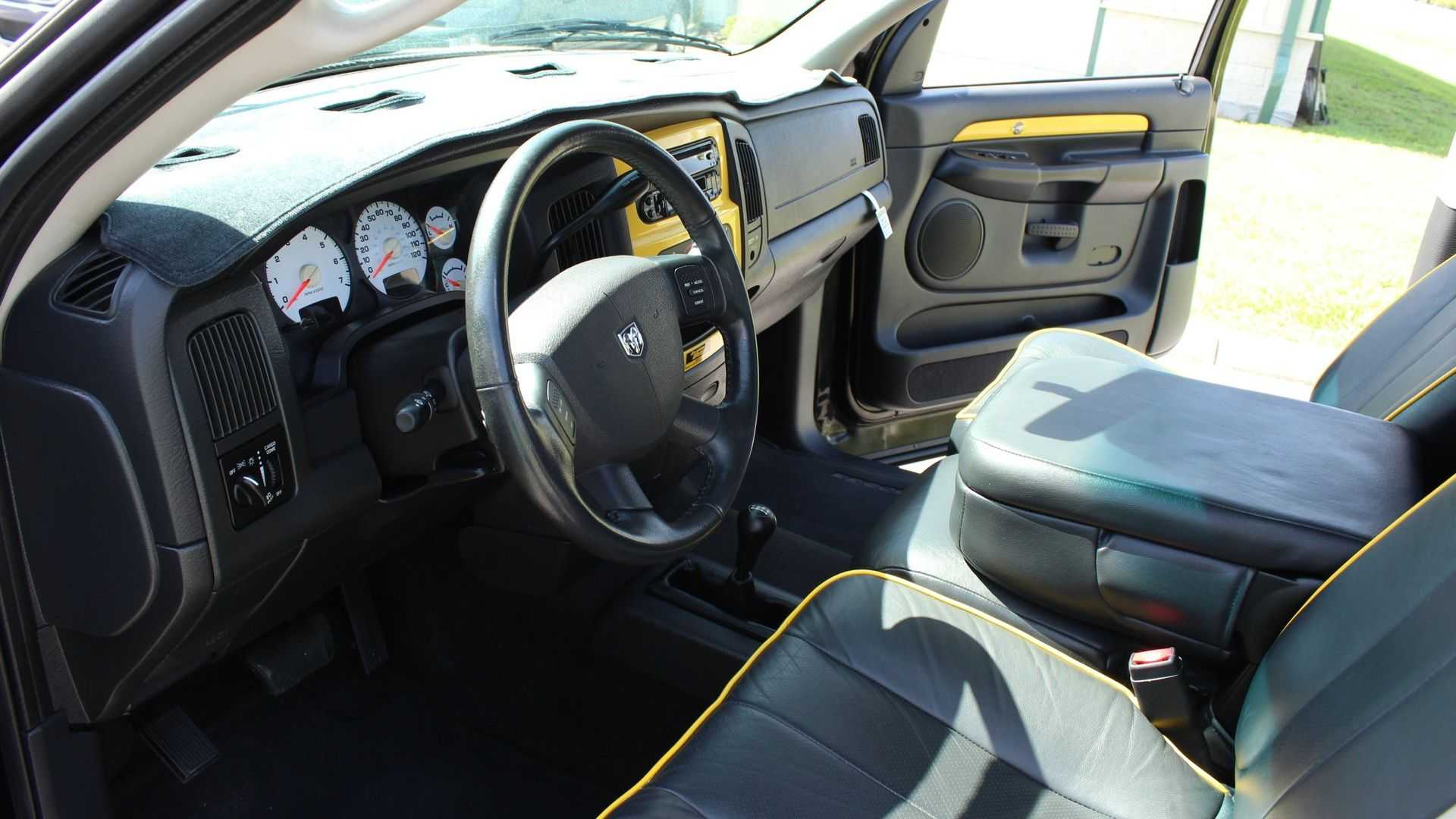 """[""""Race Muscle Cars In A 2004 Dodge Ram 1500 Rumble Bee""""]"""