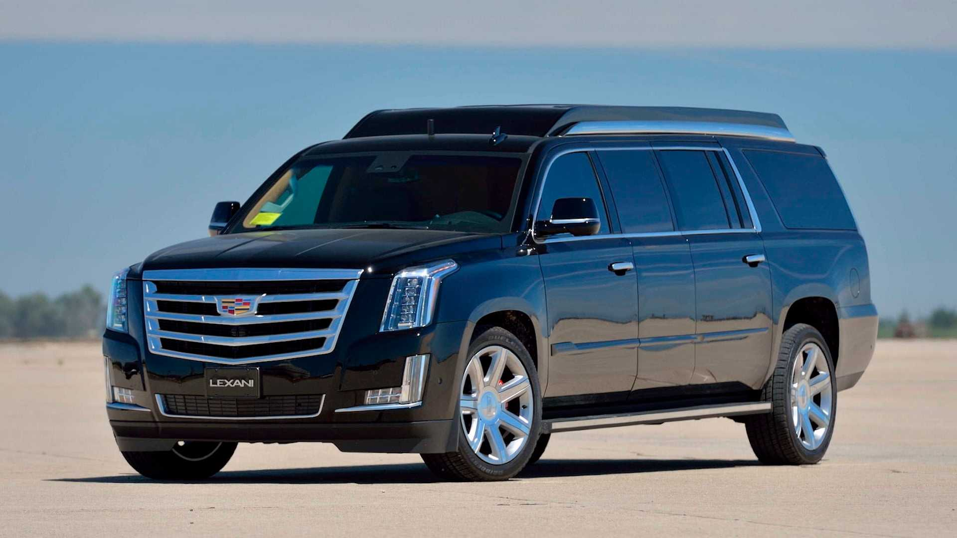 Stretched Cadillac Escalade Is An Opulent Limo Suv You Can Own