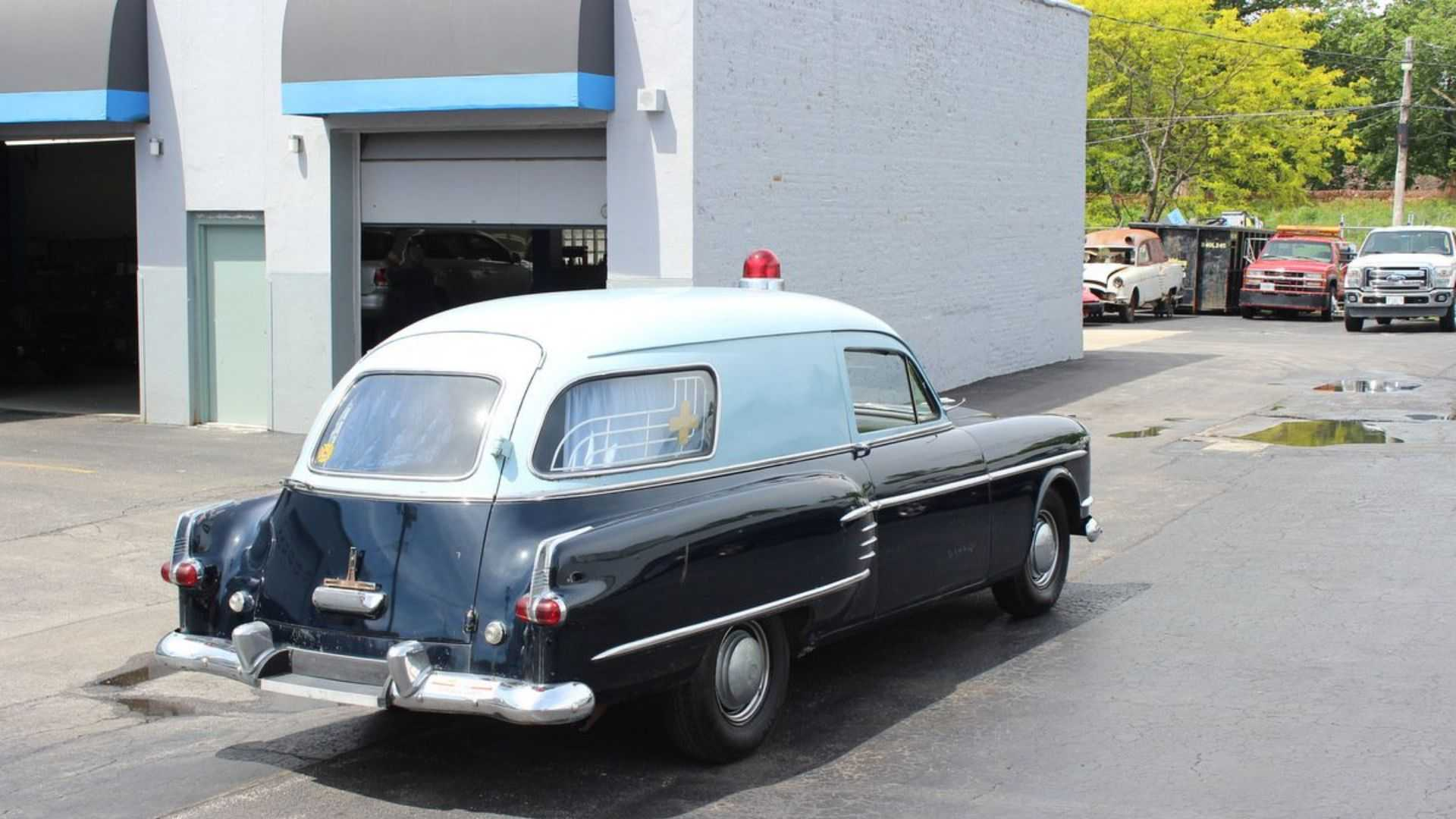 "[""Super Rare 1954 Packard Henney Jr Ambulance Needs A Loving Home""]"