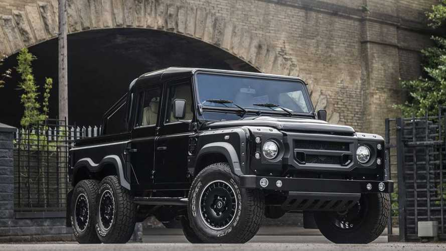 Buy This 6x6 Defender Pickup Truck And Conquer The World