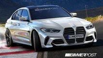 BMW M3-Rendering zeigt einen wilden Look