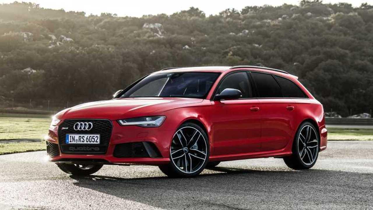 Copertina Audi, 25 anni di modelli RS