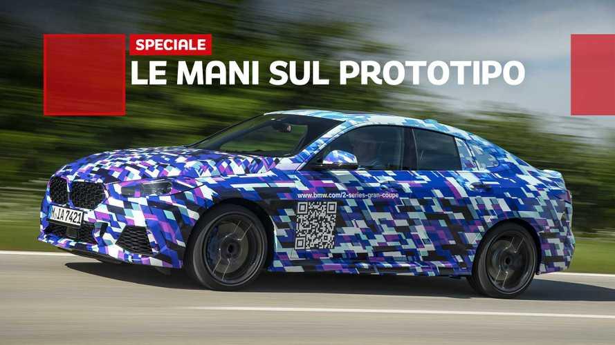 BMW Serie 2 Gran Coupé, in anteprima su strada