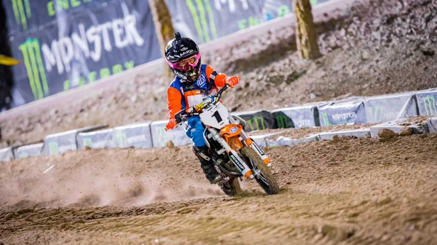 AMA Supercross Goes Slightly Electric