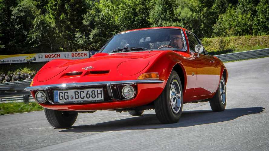 Zeitreise: Unterwegs im Opel GT von 1968