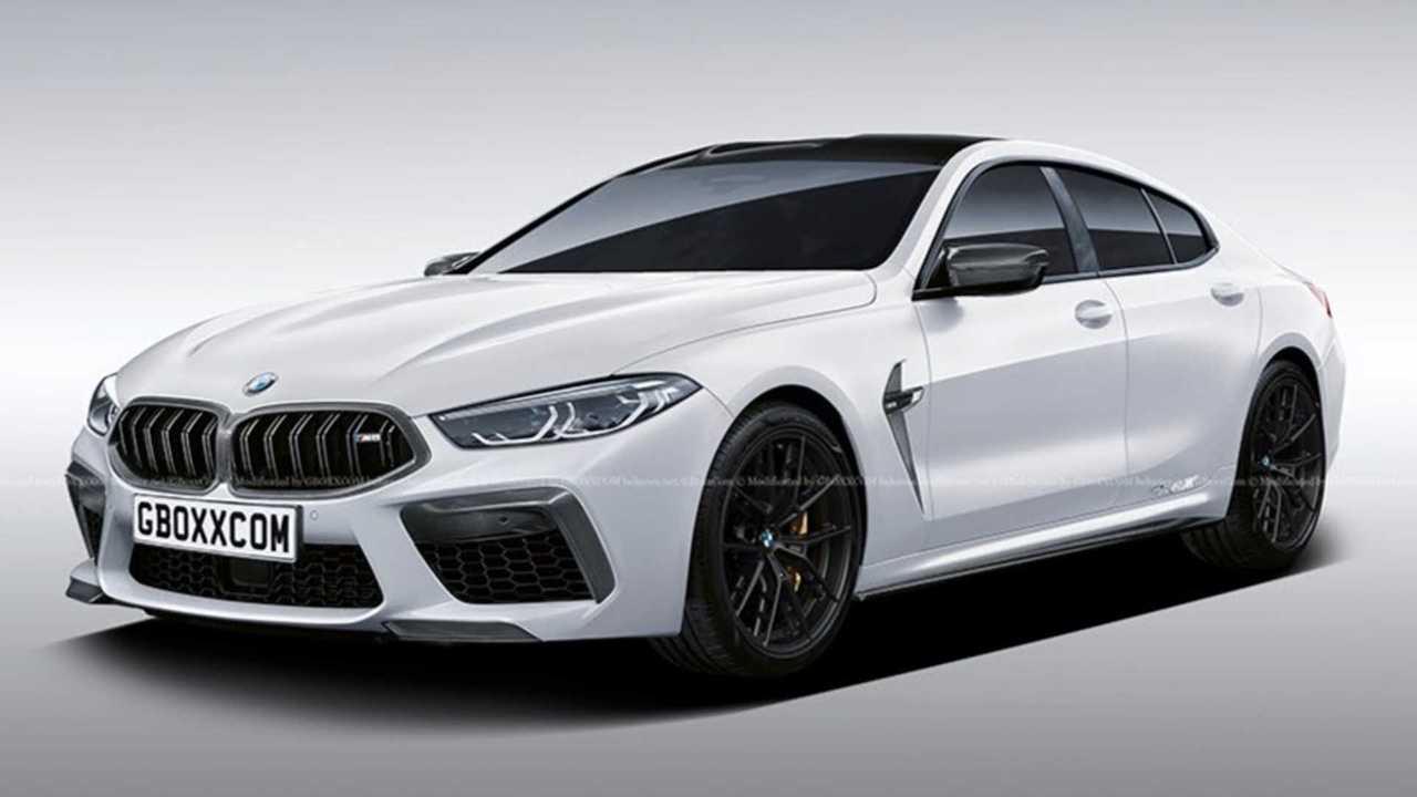 2021 BMW M8 Gran Coupe render