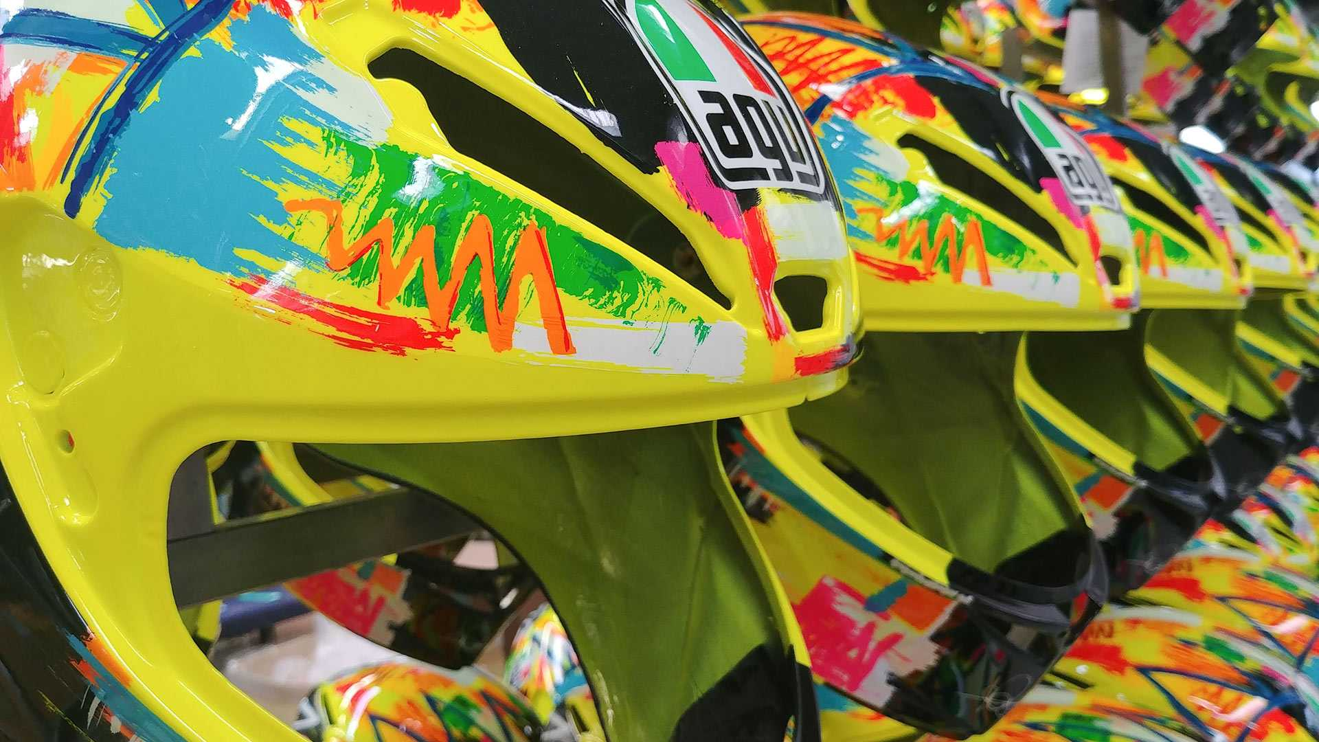 Behind The Scenes: Here's How Motorcycle Helmets Are Made