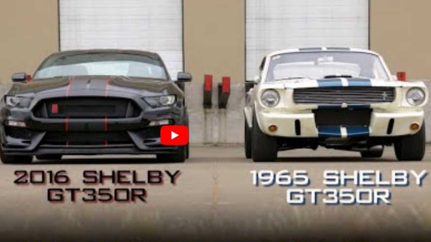 VIDEO: New Vs Old Shelby GT350R