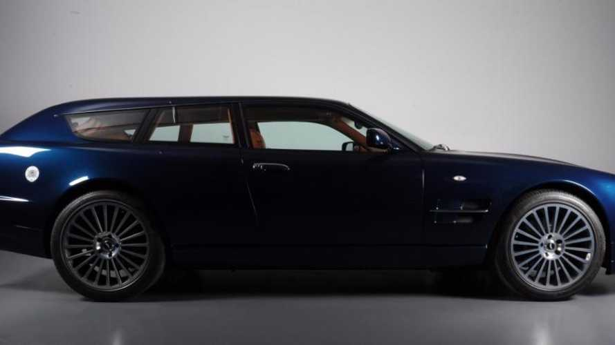 One-off Aston Martin V8 Shooting Brake Took 8000 Hours To Build