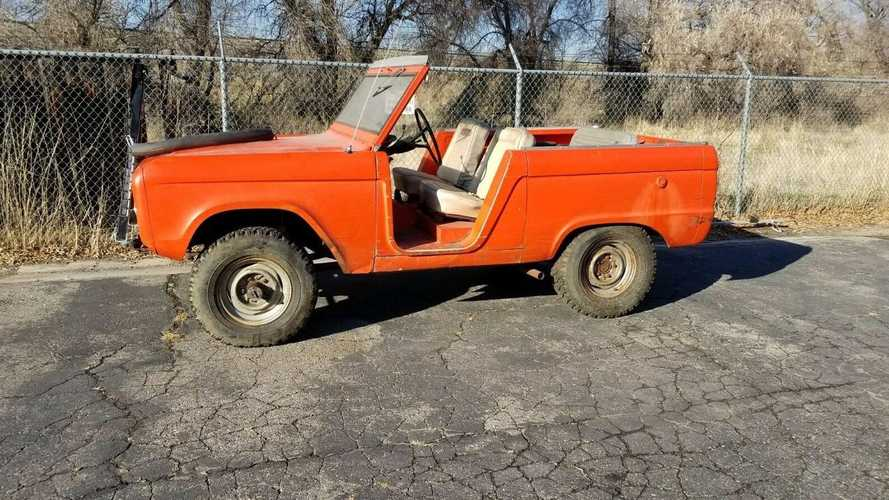 Genuine Barn Find Ford Bronco Roadster With 289ci V8 For Sale