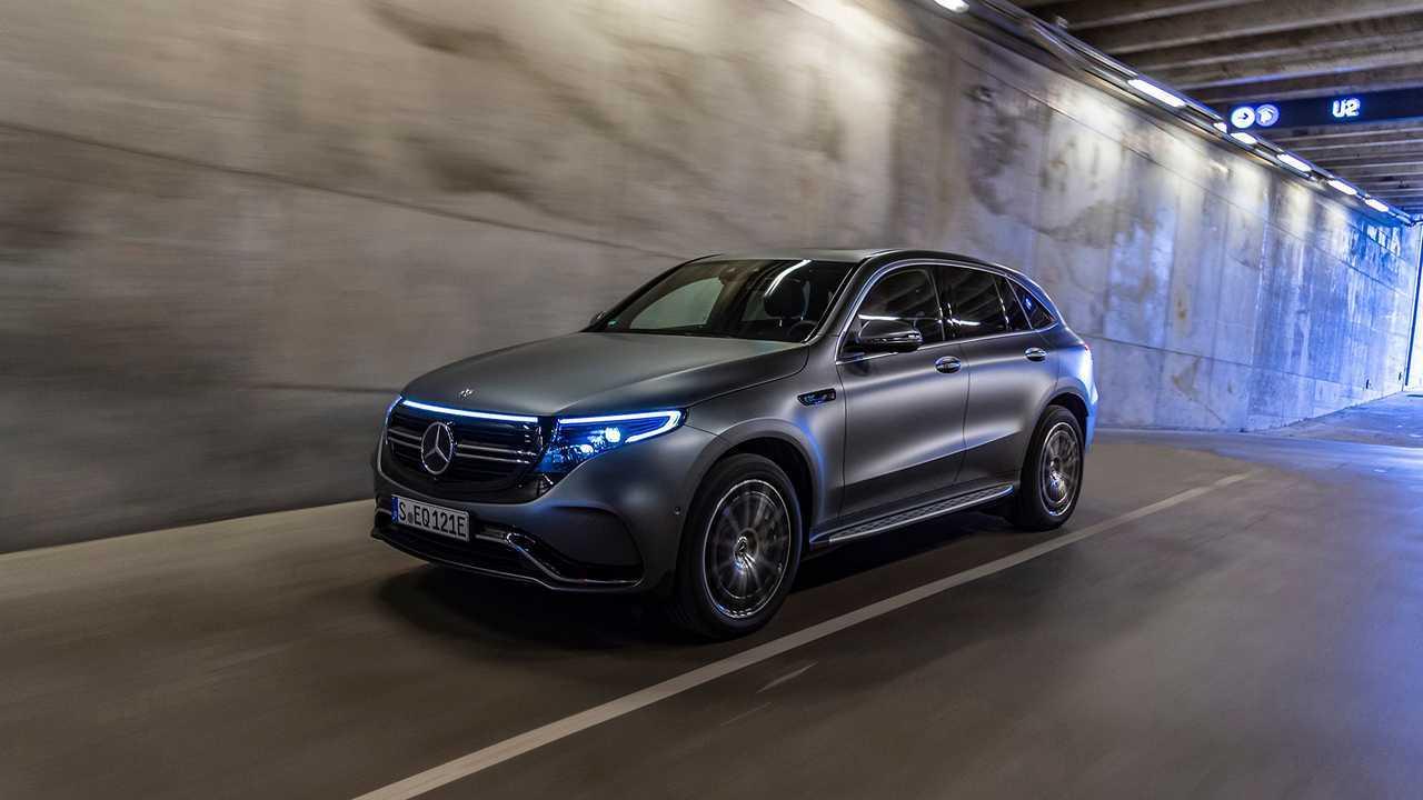 Mercedes-Benz EQC400 2020