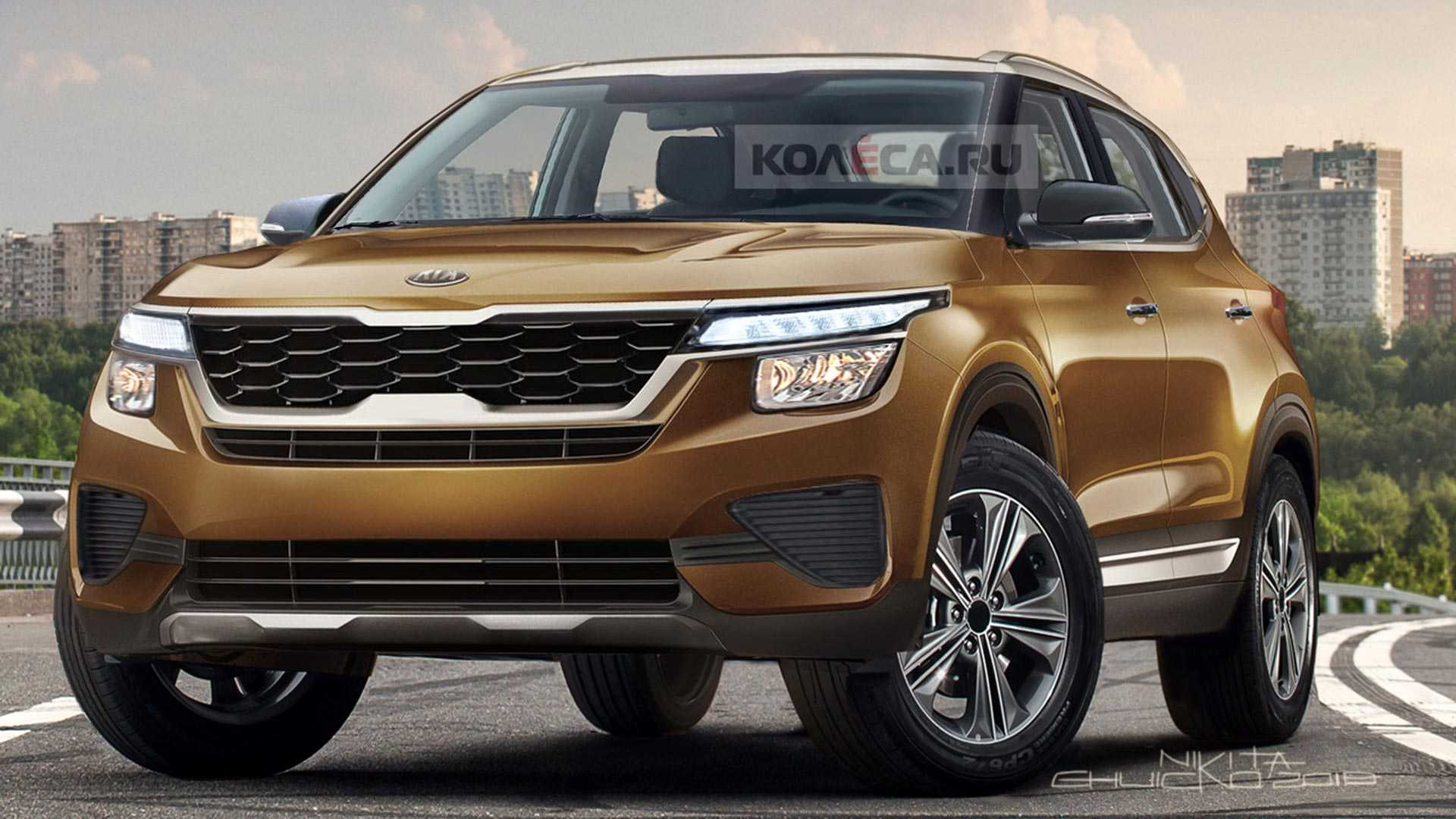 New Kia Small Crossover Rendered Ahead Of 2019 Reveal