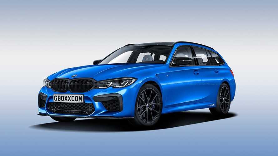 Render BMW M3 Touring: ¿y por qué no?