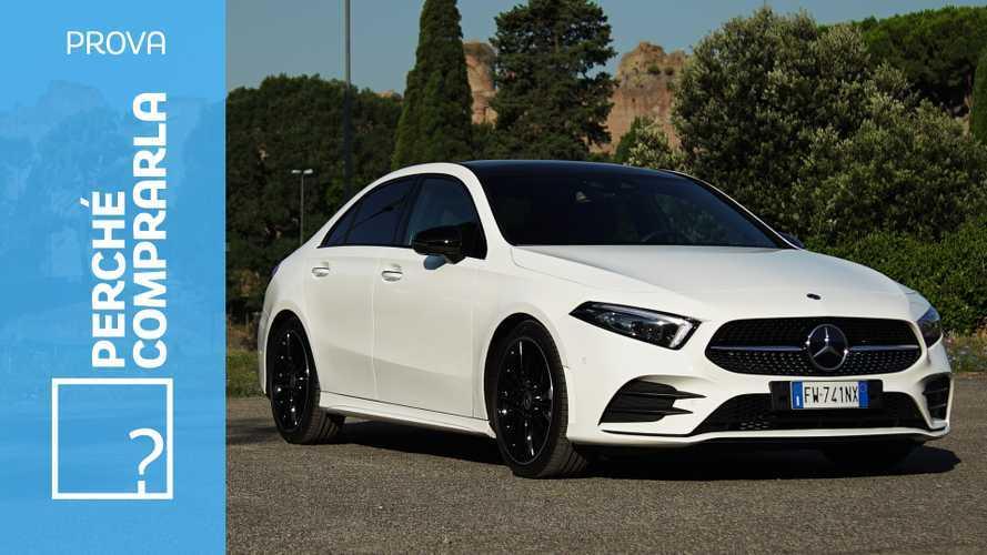 Mercedes Classe A Sedan, perché comprarla… e perché no