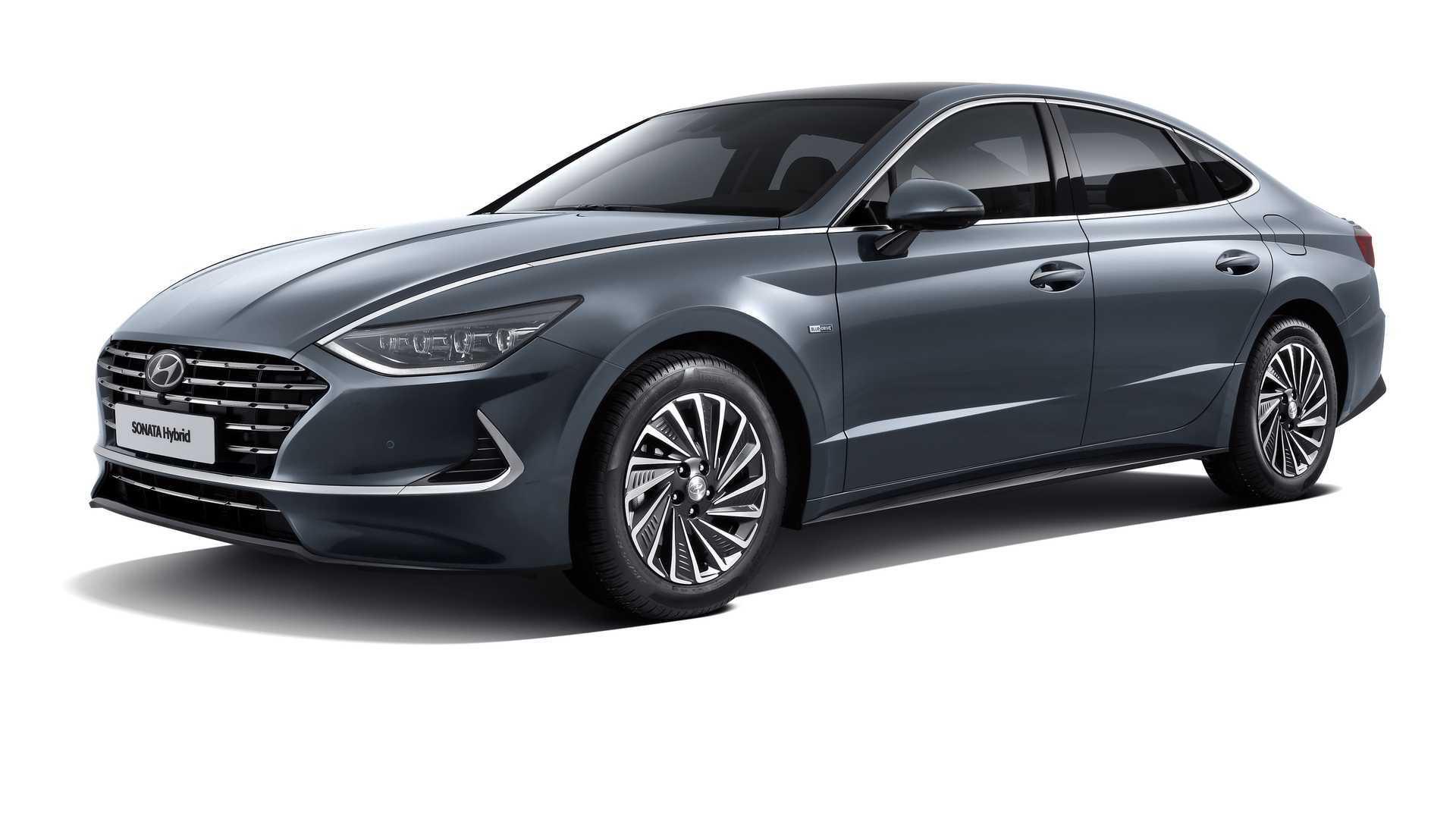 2020 Hyundai Sonata Hybrid New Concept