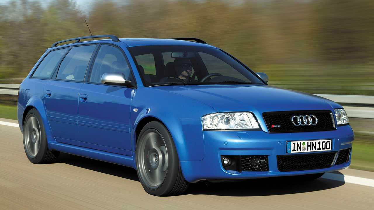 Audi RS 6 Plus (2004)
