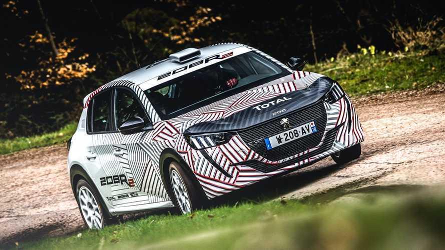Peugeot 208 - Déjà la version de rallye !