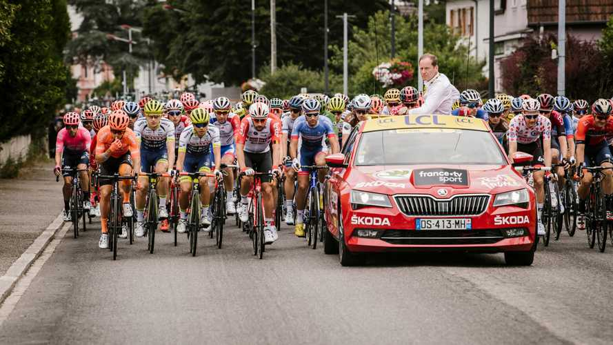 Radar - Le Tour de France et sa caravane flashés à Paris !