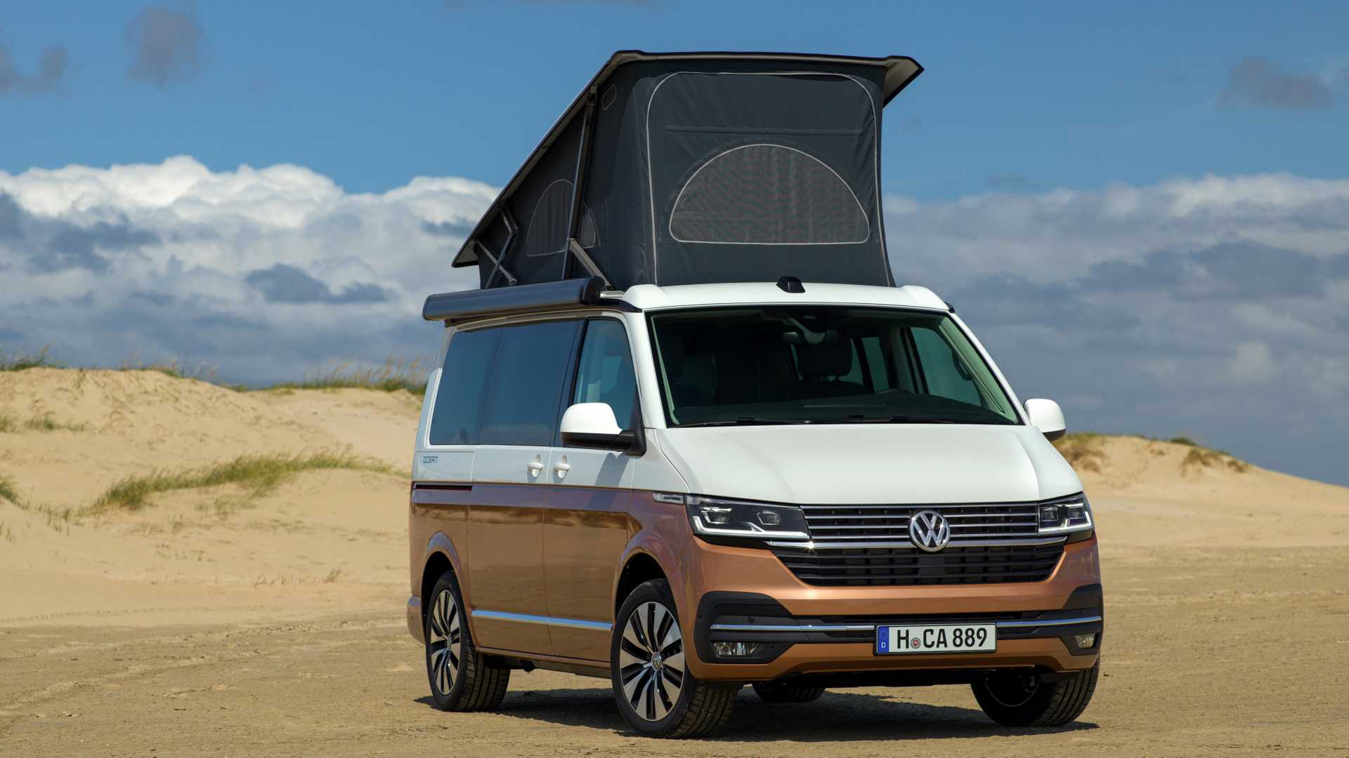 VW California 6 1 Camper Debuts With Revised Styling, More Tech