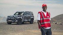 Land Rover Defender 2020 - Testes Cruz Vermelha