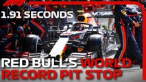 red bull f1 record pit stop