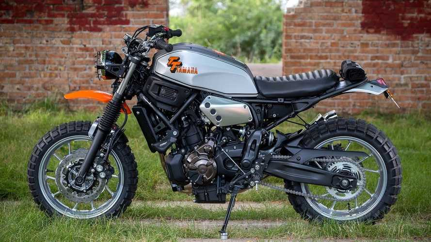 This Yamaha XSR700 Enduro Is An Incredible Yard Build
